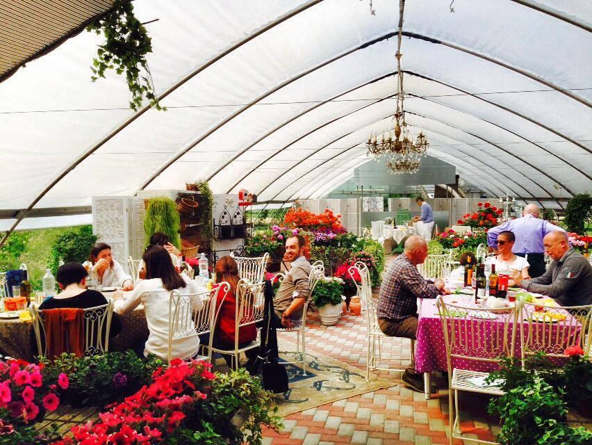 Ad alfonsine il barbecue si fa nelle serre dei fiori for Labirinto alfonsine