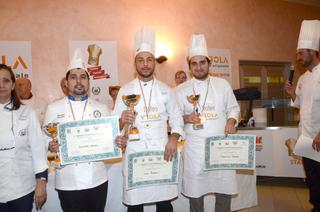 Podio Senior Trofeo Cuochi Romagnoli