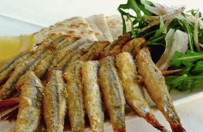 Sardoncini scottadito