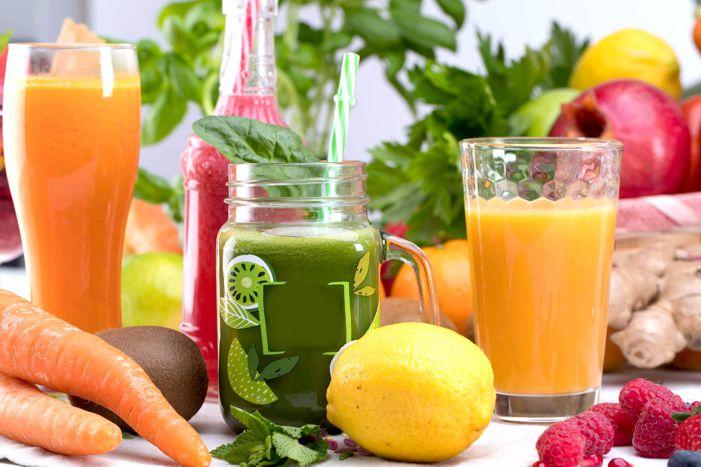 Estratti di frutta verdura