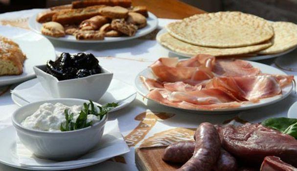 Salumi e formaggi Valle Rabbi