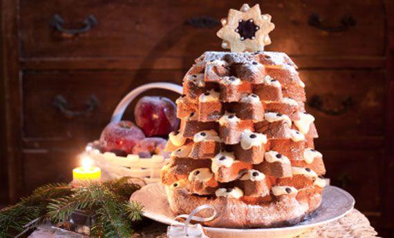 Pandoro albero di Natale