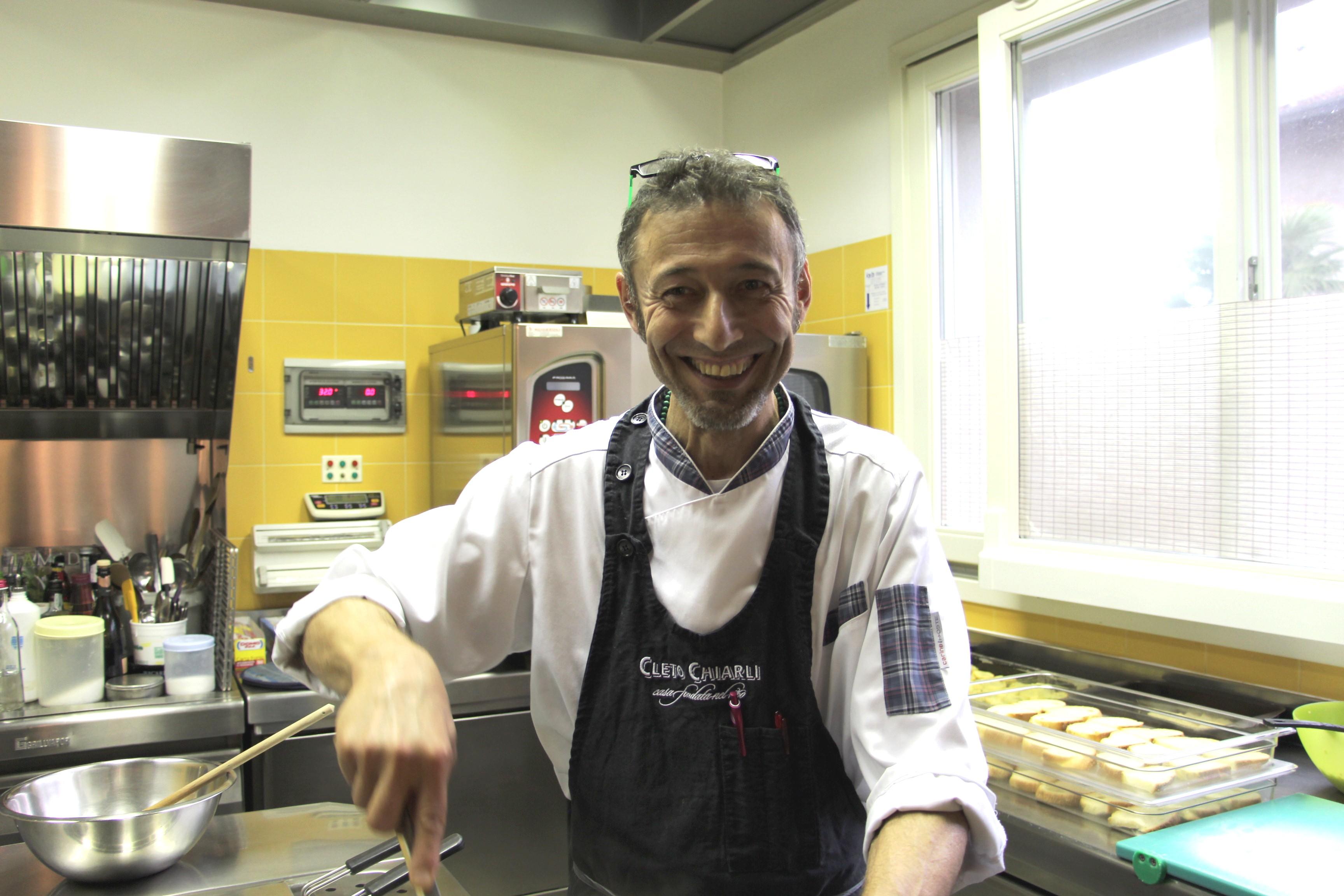 Lo Chef Giò Marzolini | Locanda alla Mano - Forlimpopoli