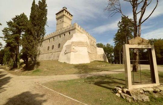 Veduda Rocca delle Caminate