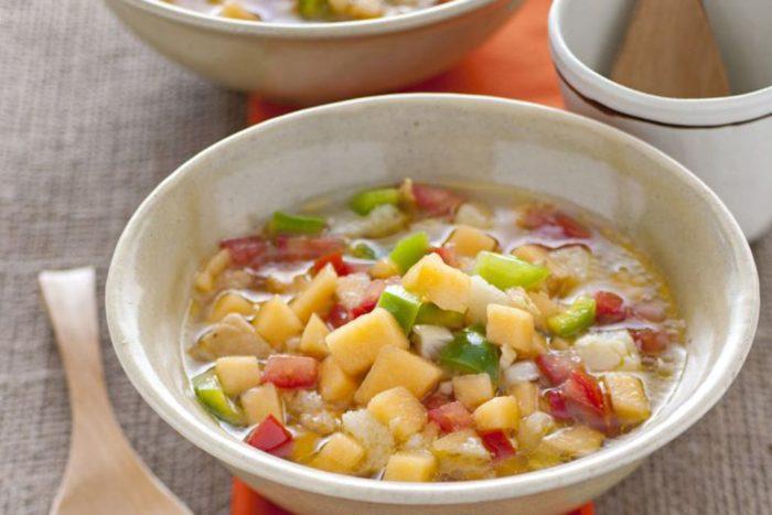 Zuppa di verdure fredda
