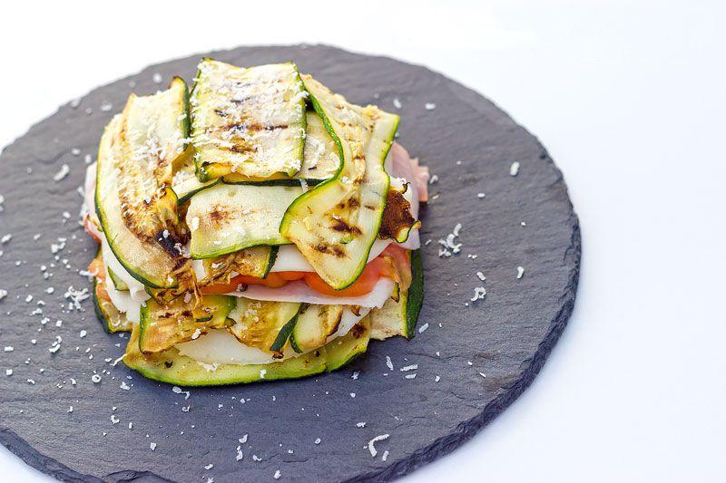 Parmigiana di zucchine fredda