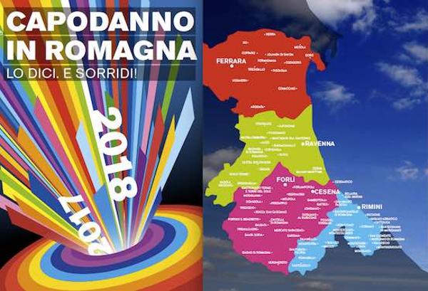 Brochure dedicata alle festività in Romagna