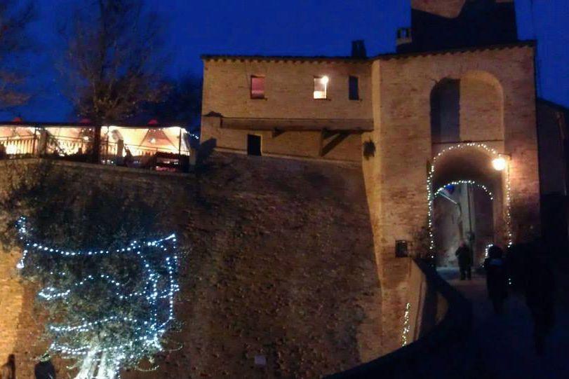 Montegridolfo a Natale