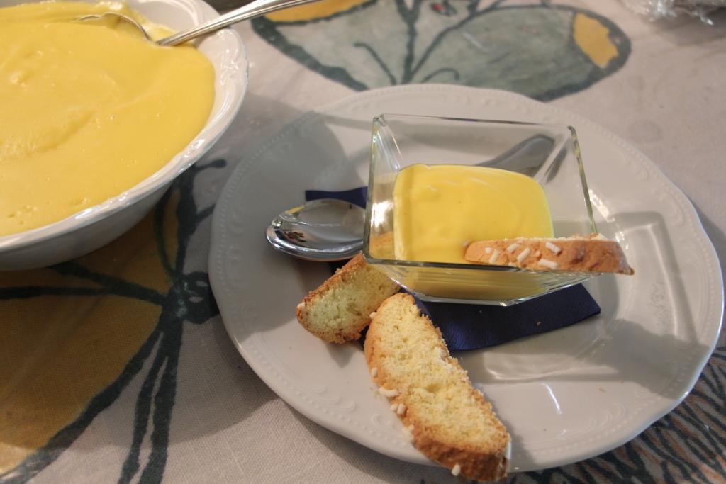 Crema pasticcera | Ristorante Cerina - Cesena