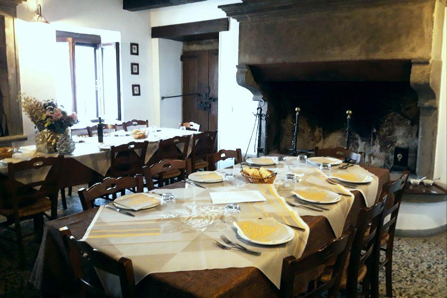 Agriturismo pian d 39 angelo di bagno di romagna romagna a tavola - Bagno marino archi pizzeria ...