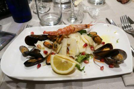 Antipasto di pesce - Ristorante Cà Nostra - Cesenatico