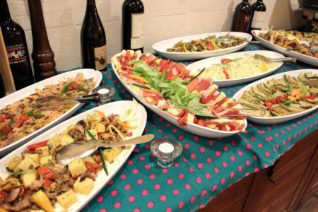 Buffet -Trattoria La Mi Mama - Rimini