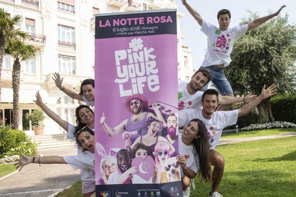 Notte Rosa - Romagna 6 luglio 2018