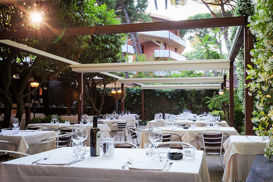 Felix ristorante pizzeria a milano marittima ra for Il giardino milano ristorante