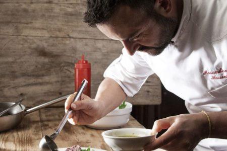 Lo chef Massimiliano Mussoni - Osteria La Sangiovesa - Santarcangelo