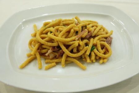 Passatelli asciutti - Ristorante Anna - Forlimpopoli
