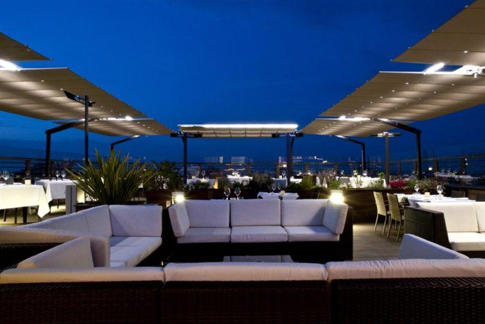 Roof Garden - Quartopiano Suite Restaurant - Rimini