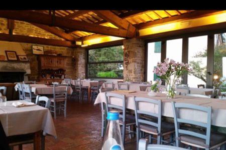 Sala Camino - Osteria di Montecodruzzo