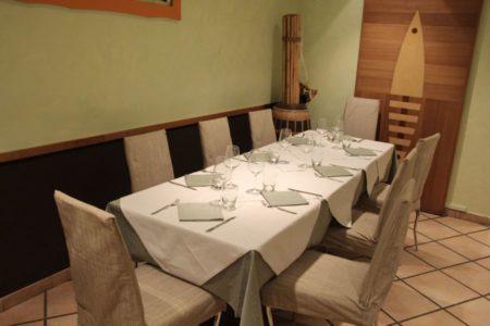 Tavolo saletta - Ristorante Pizzeria Piccolissimo - Cesena
