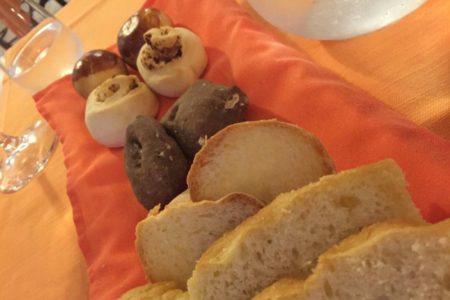 Tavolozza del pane - Ristorante Convivio - Forli
