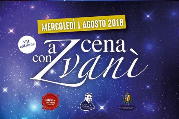 A Cena con Zvanì A San Mauro Pascoli