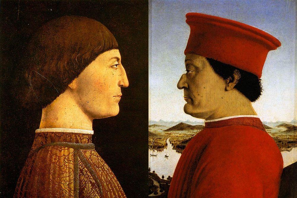 Sigismondo Malatesta e Federico Montefeltro