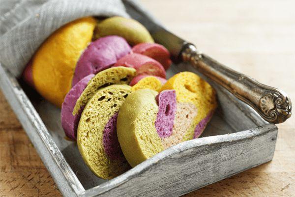 Pane colorato - Molini Spiga d'Oro