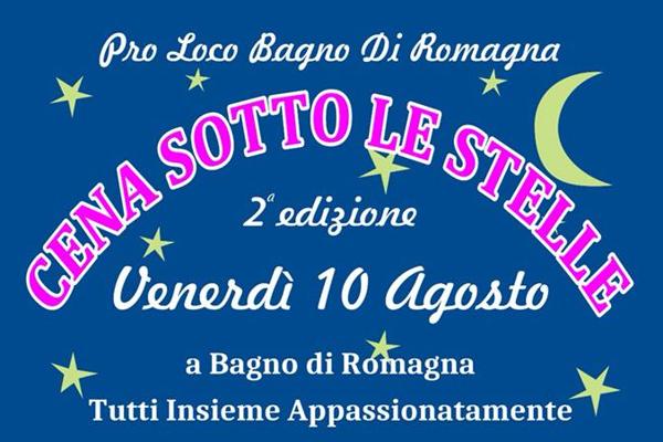 Cena sotto le Stelle - Bagno di Romagna