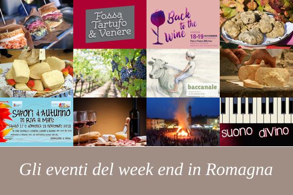 Eventi e Manifestazioni del Week End in Romagna