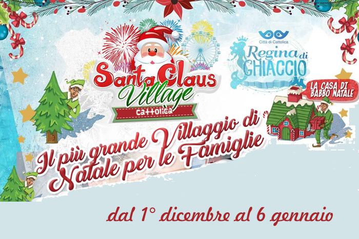 Cattolica Regina di Ghiaccio e santa Claus Village