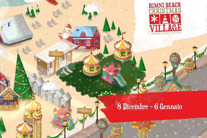 Rimini Beach Christmas Village