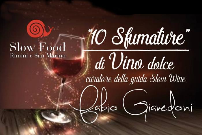 Dieci sfumature di vino dolce