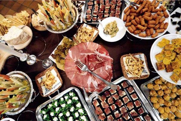 Buffet vegano Taverna da Bruno | Bellaria
