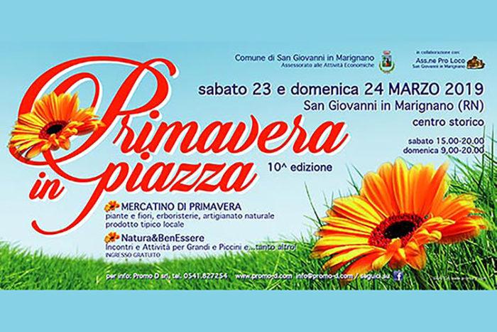 Primavera in Piazza a San Giovanni in Marignano
