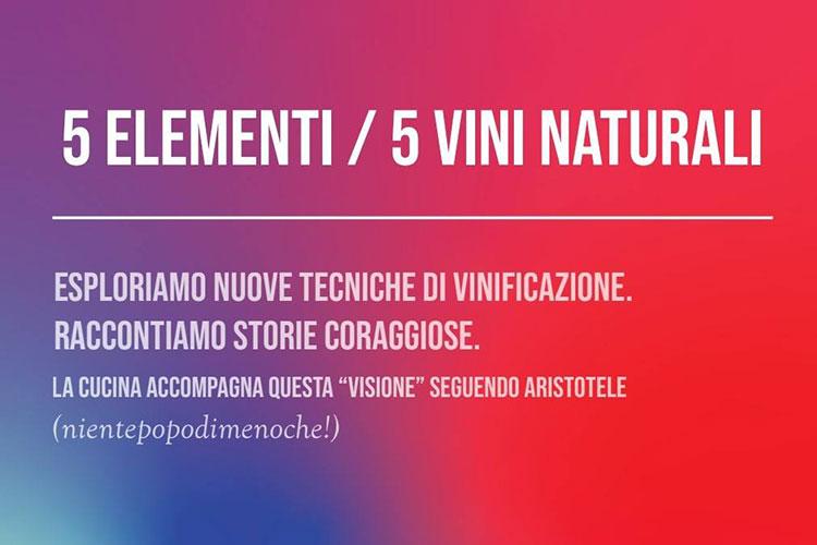 5 elementi 5 vini naturali - Quel Castello di Diegaro