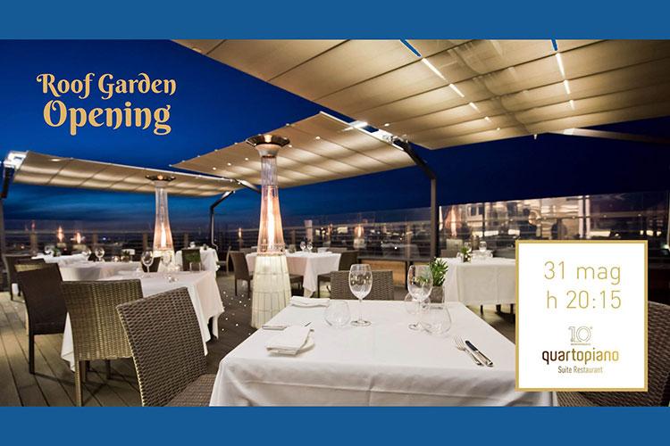 Quartopiano Suite Restaurant   Roof Garden