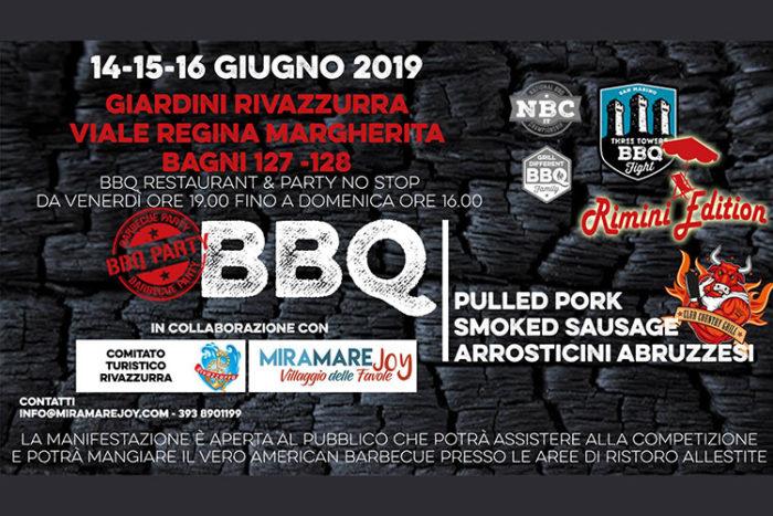 Three Tower's Barbecue Fight 2019 - Rimini