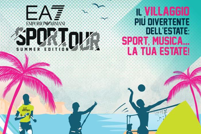 EA7 Emporio Armani Sportour Summer Edition
