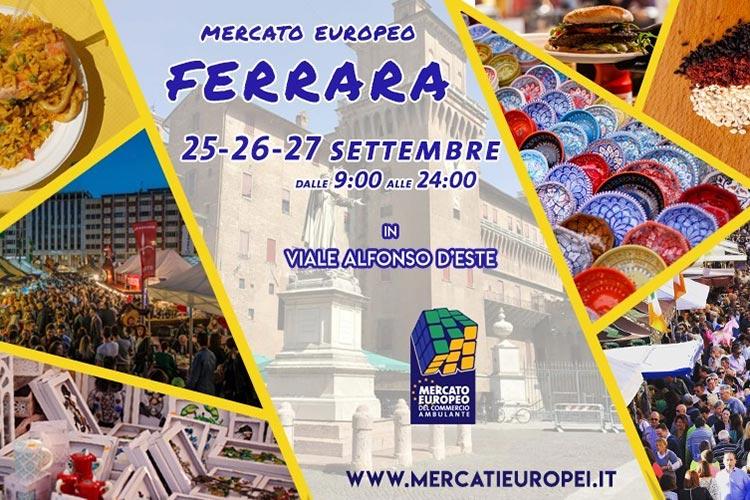Mercato Europeo 2020 a Ferrara