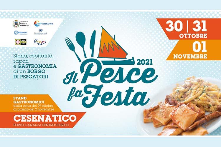Il Pesce fa festa 2021 a Cesenatico