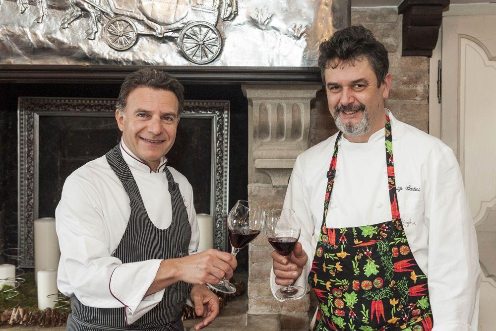 Chef Luigi Sartini e Chef Fabio Rossi - Ristorante Righi San Marino