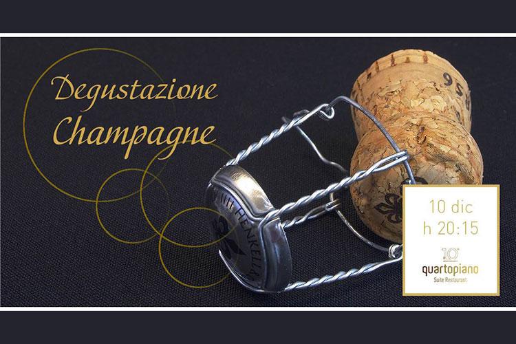 Degustazione Champagne al Quartopiano di Rimini