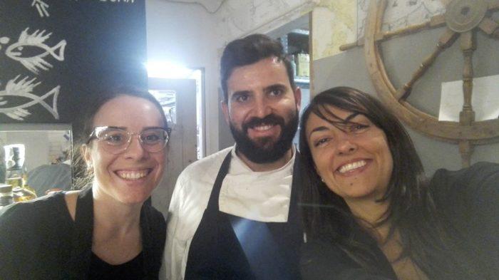 Marta, Elena e Davide - Ristorante Il Portolano - Ravenna
