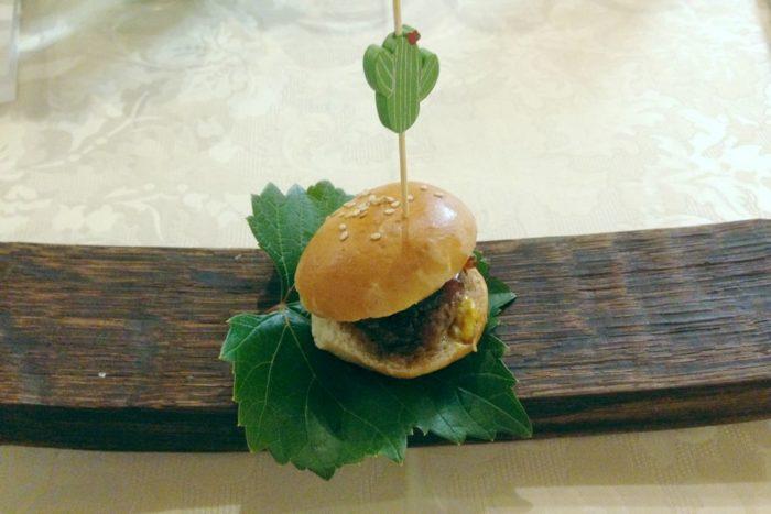 Mini burger - Agriturimo I Muretti - Monte Colombo di Montescudo