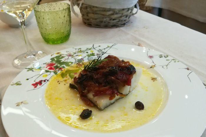 Trancio di Baccalà - Il Pesce Innamorato - Rimini