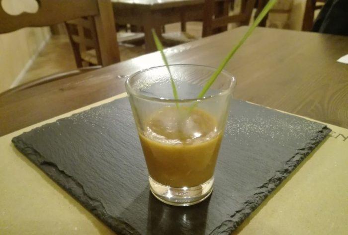 Crema di zucca - Trattoria La Giuggiola - Ravenna