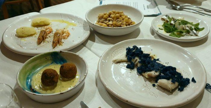 Degustazione di antipasti - Ristorante Sirocco - Bellaria Igea Marina