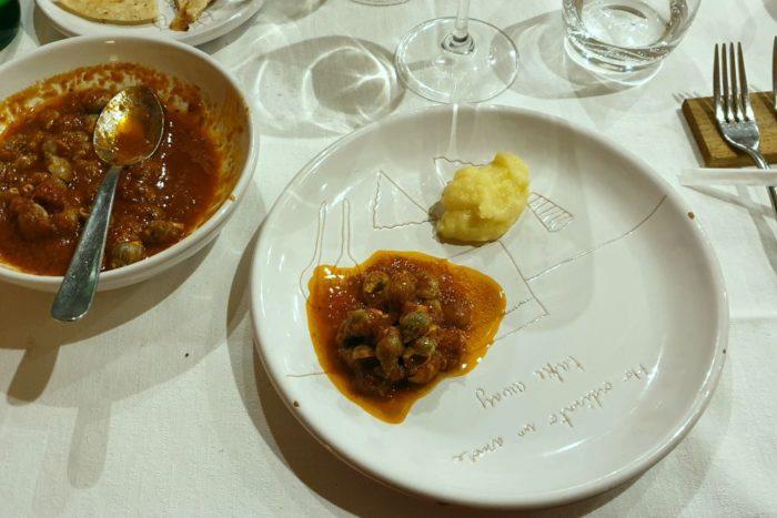 Lumachine con polenta - Ristorante Sirocco - Bellaria Igea Marina
