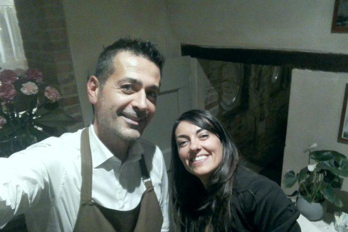 Marta Cordisco e Chef Massimo Ossani