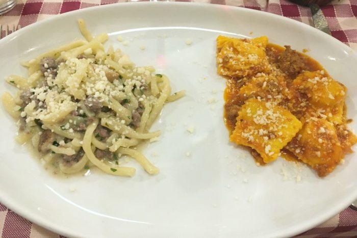 Bis di primi - Osteria del Mercato - Forlì